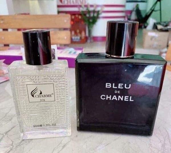 Charme Iris và Bleu de Chanel