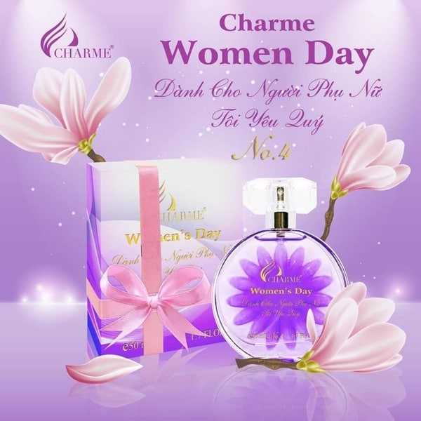 Charme Ori Mademoiselle 50ml Women's Day