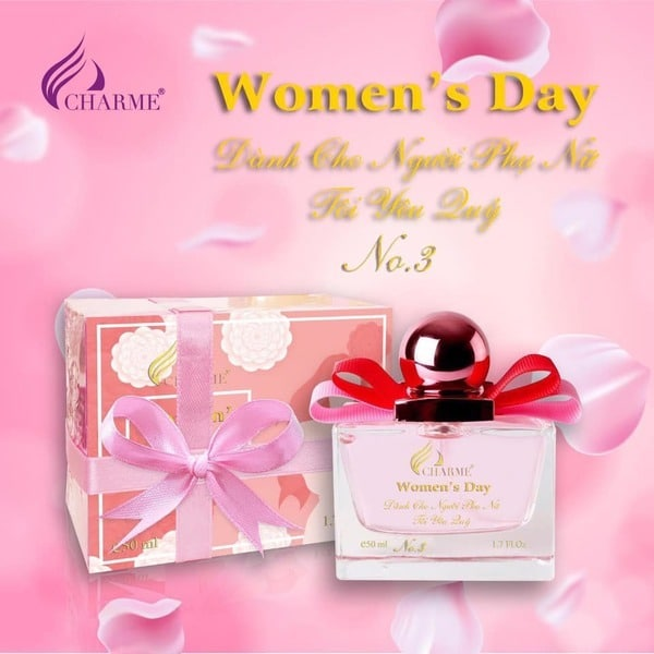 Charme Queen 50ml Women's Day
