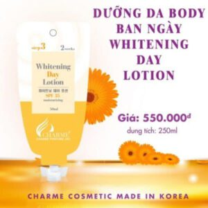Dưỡng da Body ban ngày Whitening Day Lotion 250ml