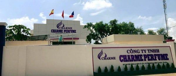 Nhà máy sản xuất nước hoa Charme