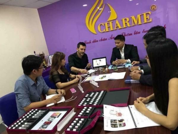 Giới thiệu công ty nước hoa Charme Perfume