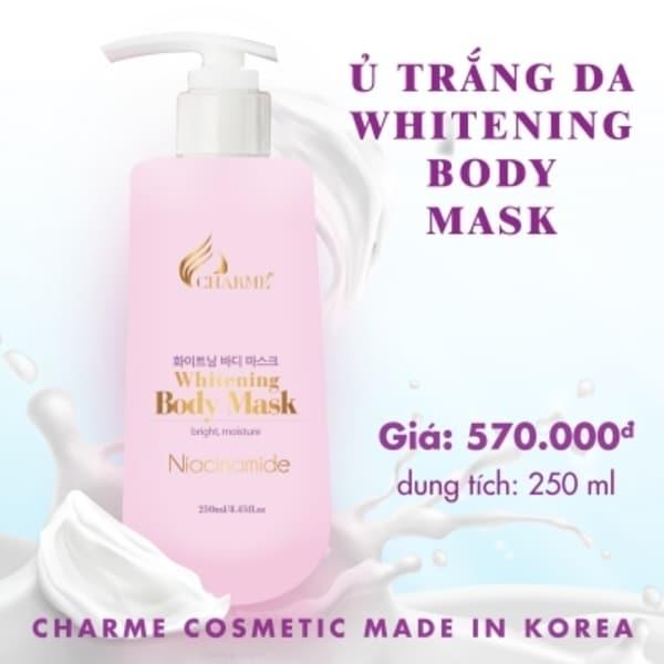 Kem ủ trắng da Whitening Body Mask 250ml