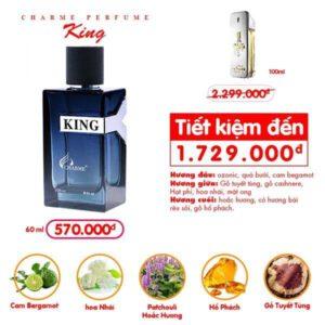 Nước hoa Charme King 60ml