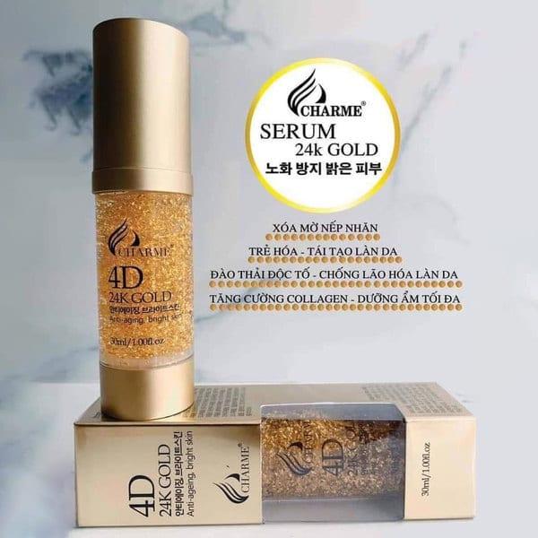 Thành phần của Serum Charme 4D 24k Gold 30ml