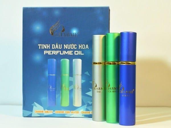 Set nước hoa Charme Perfume Oil Guility - Cool Water - Iris