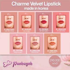 Son sáp Charme Velvet Lipstick