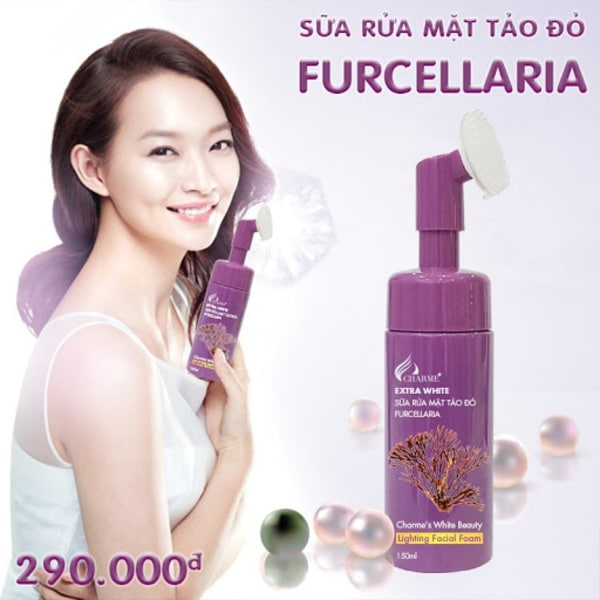Sữa rửa mặt Furcellaria Tảo Đỏ Charme 150ml