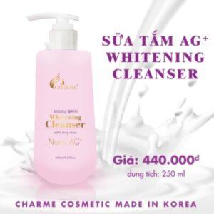 Sữa tắm AG+ Whitening Cleanser 250ml